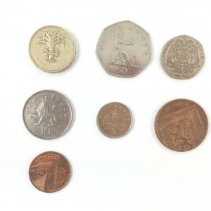 UK Currency selection