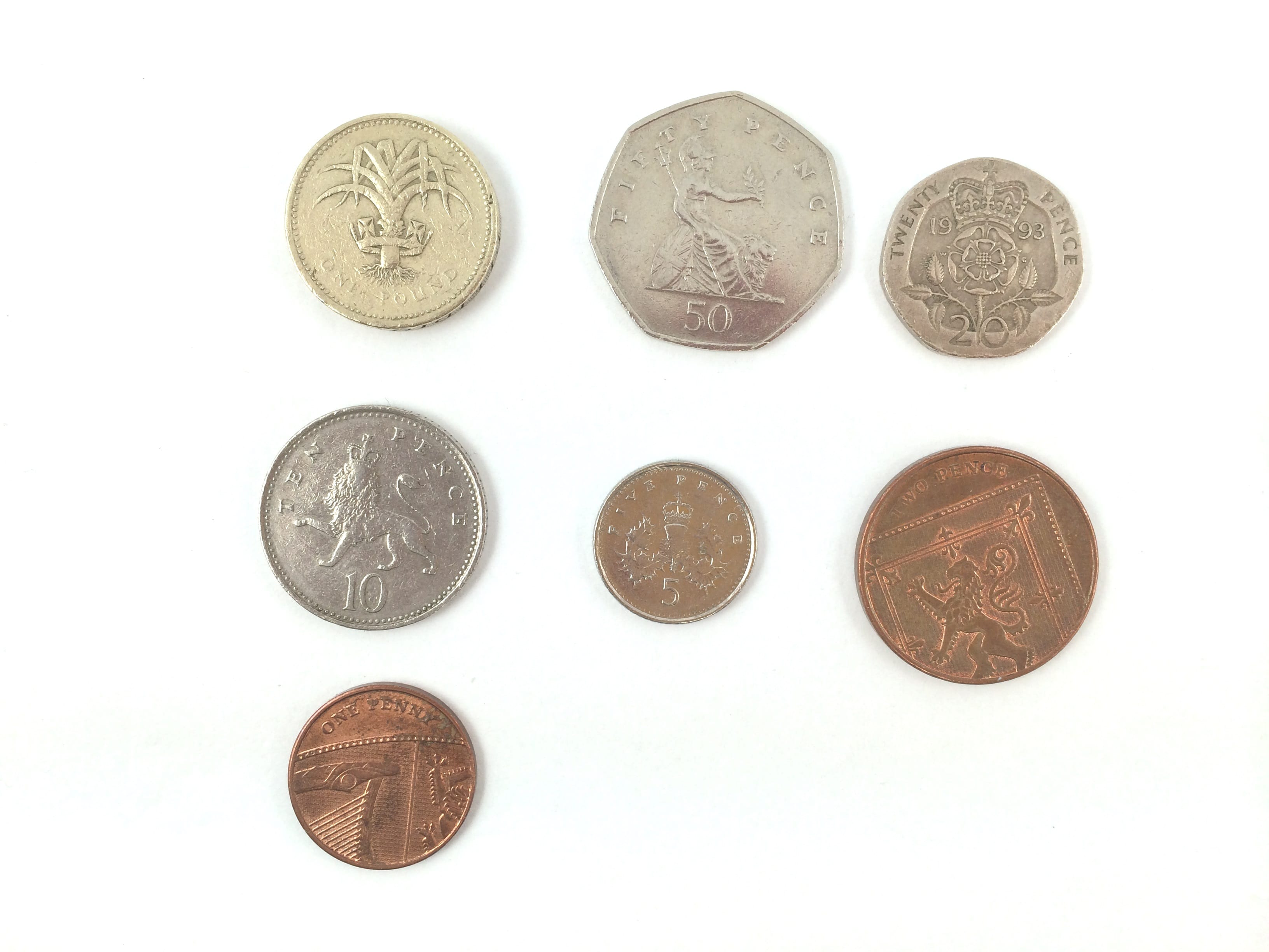 how to clean coins uk