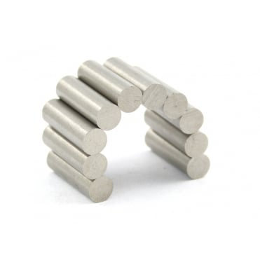 "0.195""x0.65"" (4.95x16.51mm) alnico 5 rod"