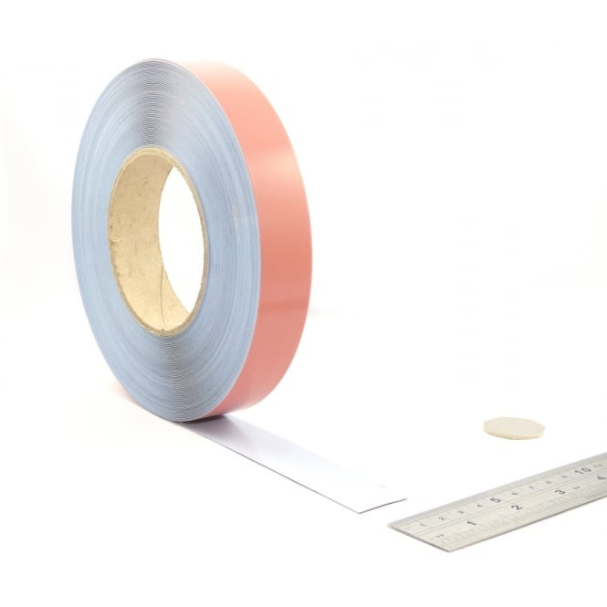 "Guy's Magnets 1"" wide flexible self adhesive steel tape"
