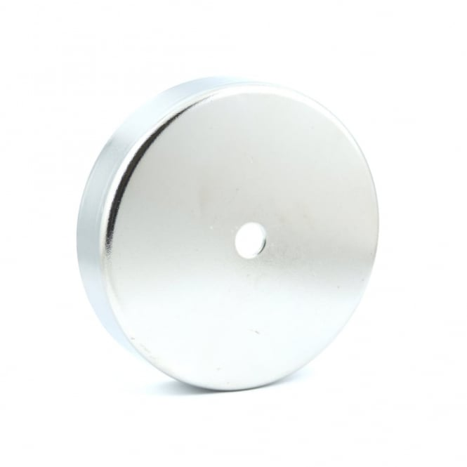 Guy's Magnets 100mm x 22mm Ferrite Pot Magnet with 10.5mm hole