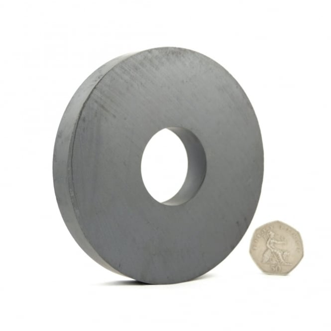 Guy's Magnets 110 mm x 36 mm x 15 mm C5 ferrite ring
