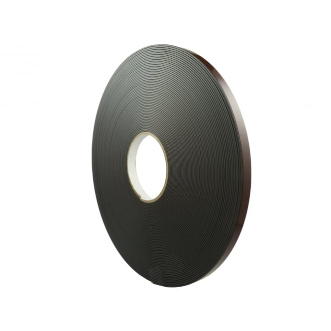 12.5mm wide flexible self adhesive magnetic strip 30 metre reel - B form