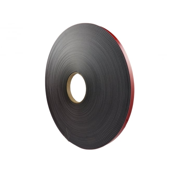 Guy's Magnets 12.5mm wide foam backed flexible self adhesive magnetic strip 30 metre reel