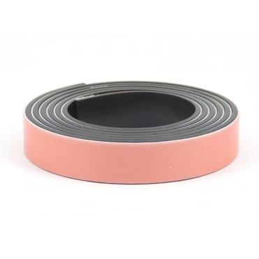 12.5mm wide  foam backed flexible self adhesive magnetic strip - by the metre