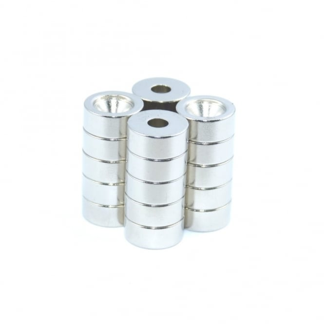 Guy's Magnets 12 mm x 4 mm x 5 mm countersunk neodymium ring