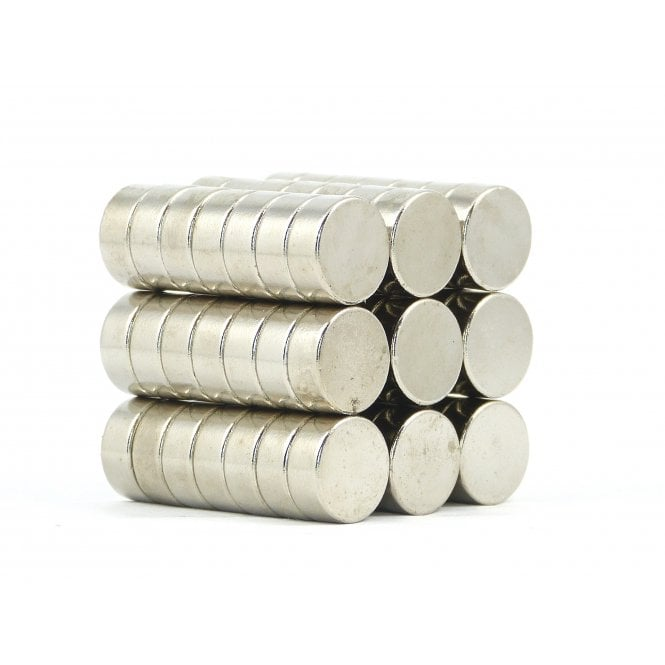 Guy's Budget Range 12 mm x 5 mm N38 grade disk - PACK OF 5