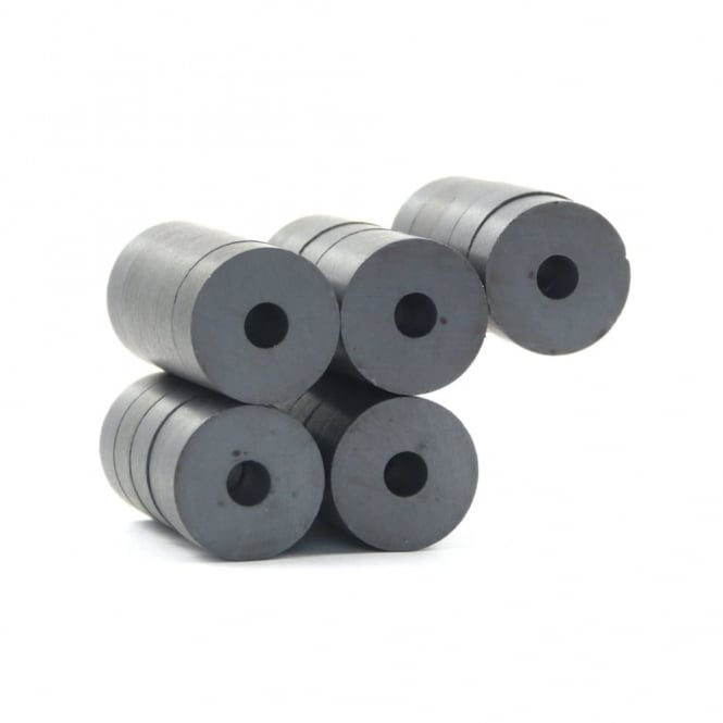 Guy's Magnets 15.9 mm x 4.6 mm x 6 mm C8 ferrite ring