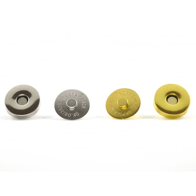 18mm magnetic bag clasps