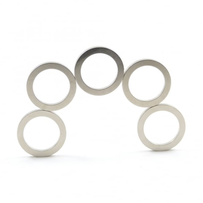 Guy's Magnets 19 mm x 14 mm x 1 mm N52 neodymium ring