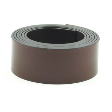 25mm wide flexible self adhesive magnetic strip - by the metre