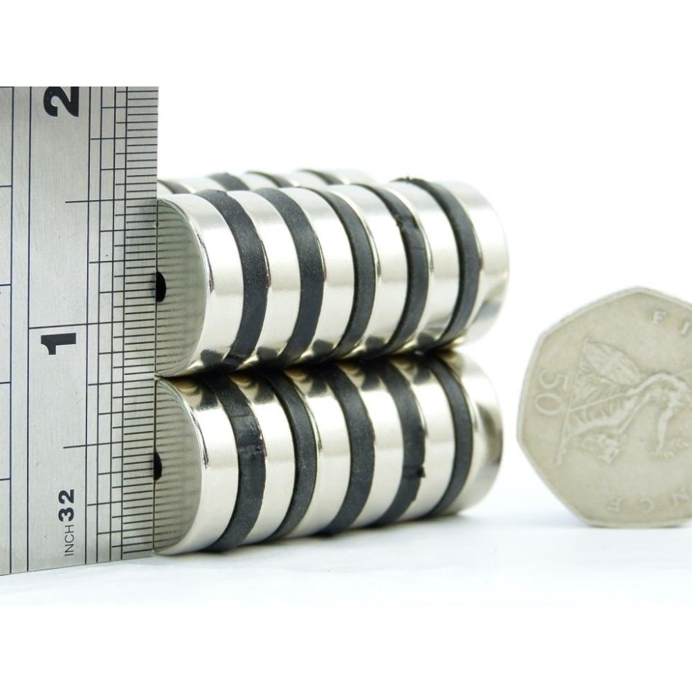 3 4 inch x 1 8 inch x 3 16 inch n52 high grade neodymium ring magnets. Black Bedroom Furniture Sets. Home Design Ideas