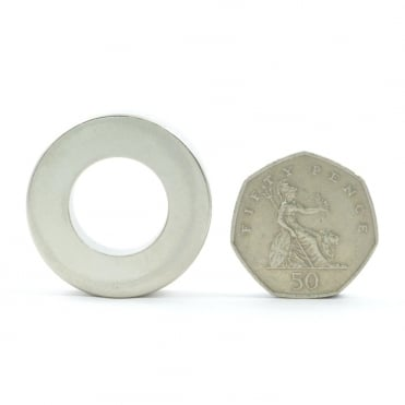 34 mm x 18 mm x 9 mm, high temperature, neodymium ring