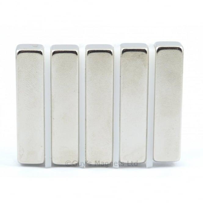 Guy's Magnets 42 mm x 8 mm x 10 mm Neodymium block