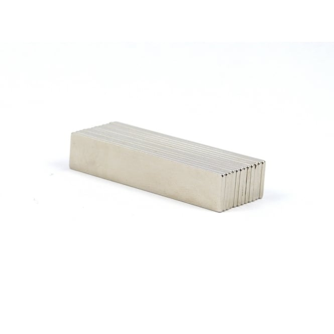Guy's Magnets 50 mm x 10 mm x 1.5 mm neodymium block
