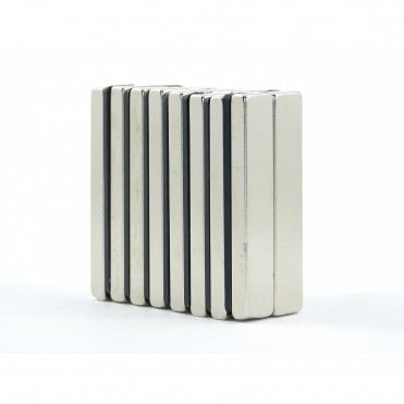 50 mm x 10 mm x 5 mm N38 grade block - PACK OF 10