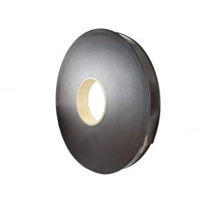 50mm 'C' profile flexible magnetic strip - 50 metre reel