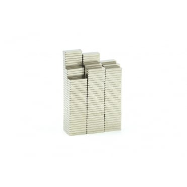 8 mm x 3 mm x 1 mm High Grade N45 neodymium block magnets