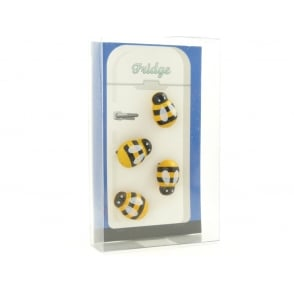 Bee fridge magnets - Box of 4