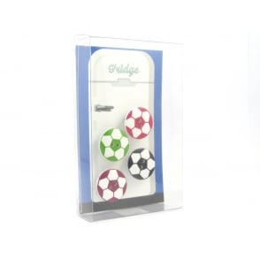 Football Fridge Magnets - box of 4