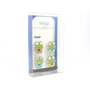 Funny Frog Fridge Magnets - box of 4