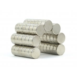 10 mm x 5 mm N38 grade disk - PACK OF 100