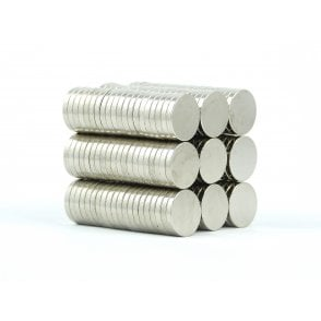 12 mm x 2 mm N38 grade disk - PACK OF 5