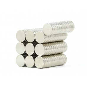 12 mm x 3 mm N38 grade disk - PACK OF 10