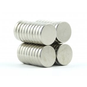 15 mm x 3 mm N38 grade disk - PACK OF 5