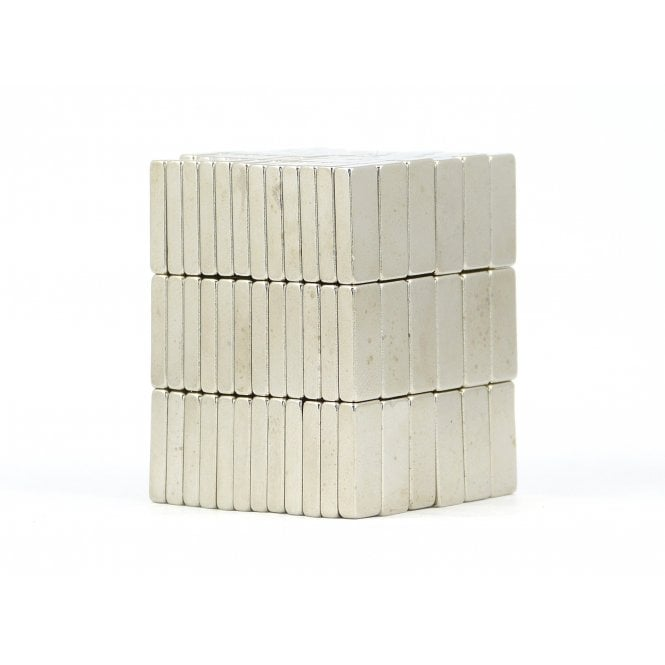 Guy's Budget Range 15 mm x 6 mm x 3 mm N38 grade block - PACK OF 10