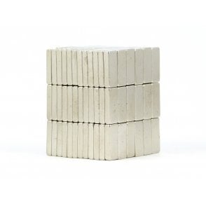 15 mm x 6 mm x 3 mm N38 grade block - PACK OF 10
