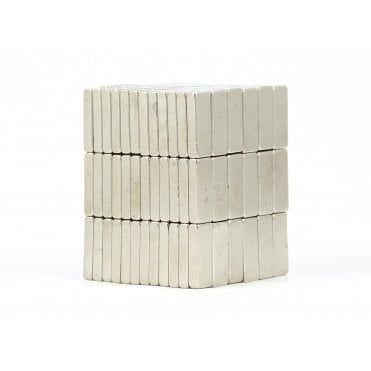 15 mm x 6 mm x 3 mm N38 grade block - PACK OF 25