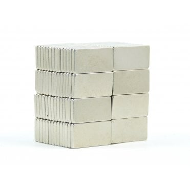 20 mm x 10 mm x 2 mm N38 grade block - PACK OF 10