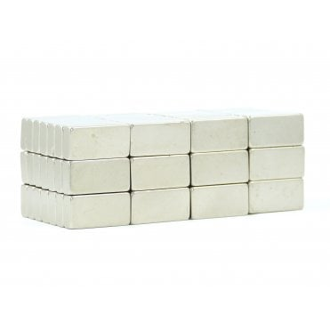 20 mm x 10 mm x 5 mm N38 grade block - PACK OF 10