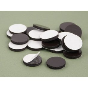 20 mm x 3 mm self adhesive flexible magnetic disk - PACK OF 25
