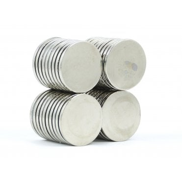 25 mm x 2 mm N38 grade disk - PACK OF 10