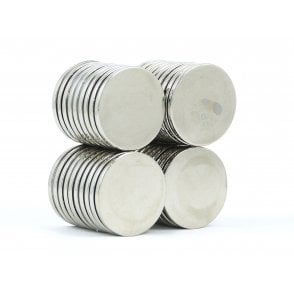 25 mm x 2 mm N38 grade disk - PACK OF 5