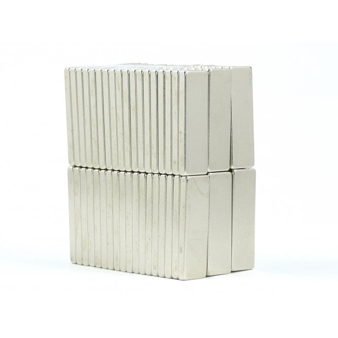 Guy's Budget Range 30 mm x 10 mm x 3 mm N38 grade block - PACK OF 25
