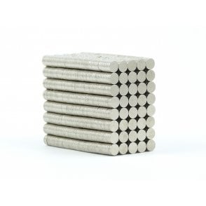 4 mm x 1 mm N38 grade disk - PACK OF 10