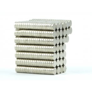 6 mm x 2 mm N38 grade disk - PACK OF 100