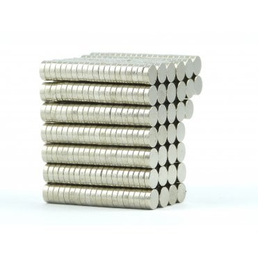 6 mm x 2 mm N38 grade disk - PACK OF 50