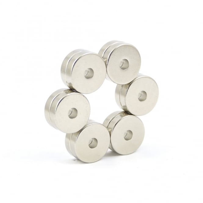 "Guy's Magnets 1/2"" x 1/8"" x 1/8"" neodymium ring"