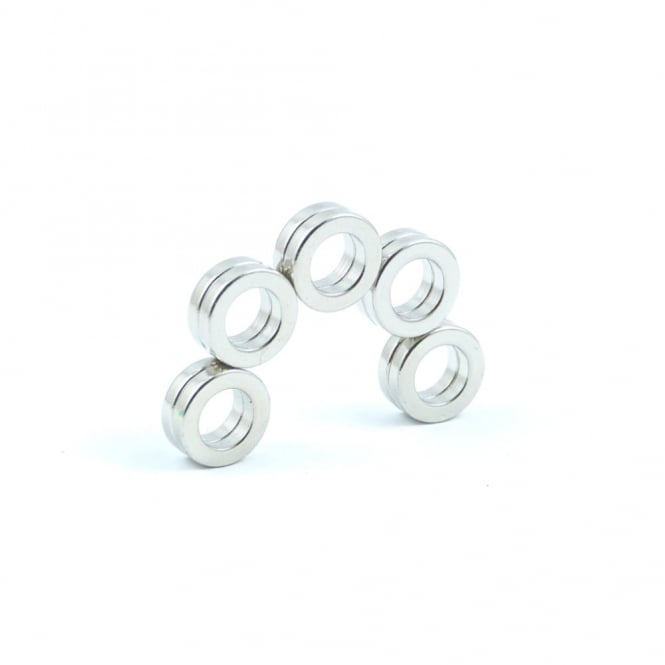 Guy's Magnets 10 mm x 6 mm x 2 mm N52 neodymium ring