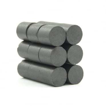 11.4 mm x 12 mm C5 ceramic ferrite rod / disk