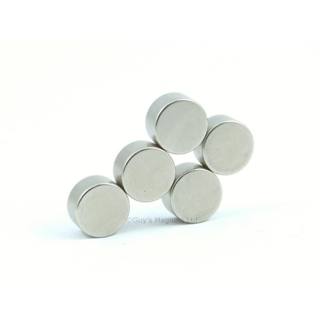 Guy's Magnets 12 mm x 6 mm neodymium disk