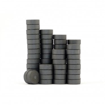 14 mm x 5 mm C1 multipolar ferrite craft disk