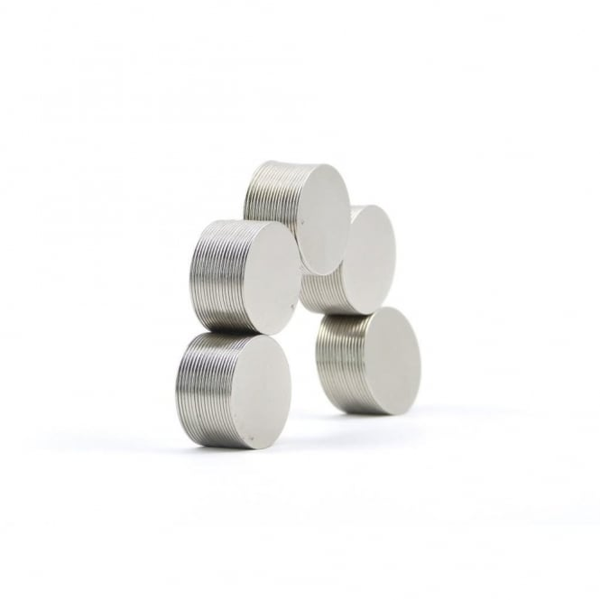 Guy's Magnets 15 mm x 0.5 mm N52 Neodymium disk