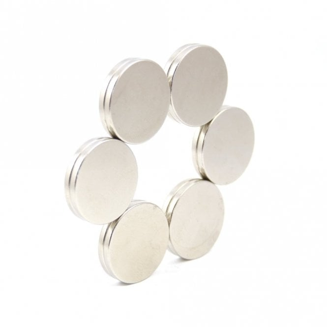 Guy's Magnets 20 mm x 2 mm N52 high grade neodymium disk