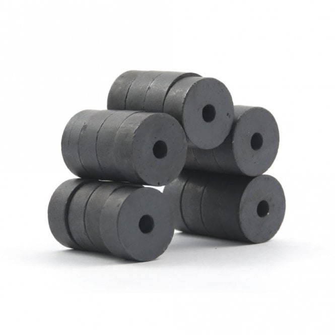 Guy's Magnets 20 mm x 5 mm x 8 mm C8 ferrite ring magnets