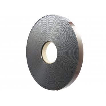 24mm wide flexible self adhesive magnetic strip 30 metre reel - B form